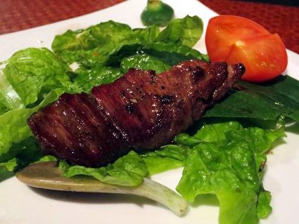 なか川 @new open!北新地の肉料理店_b0118001_2311506.jpg