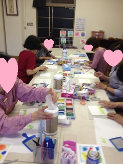 絵手紙教室_e0202518_2241559.jpg
