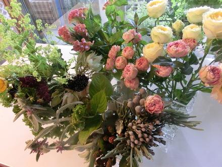 お花に囲まれて・・・♪  6/16①_b0247223_15432756.jpg