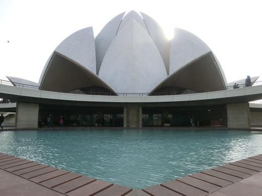 Bahai House of Worship(Lotus Temple)_b0129832_038453.jpg