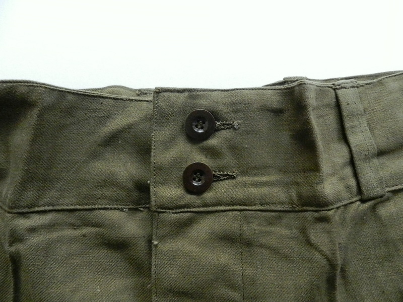 French army M47 pants dead stock_f0226051_12235111.jpg