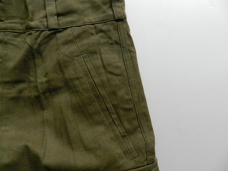 French army M47 pants dead stock_f0226051_12255413.jpg