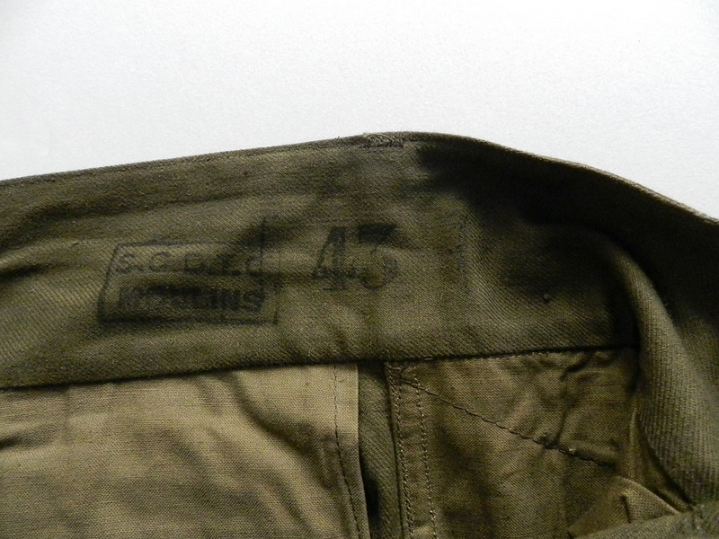 French army M47 pants dead stock_f0226051_12272113.jpg