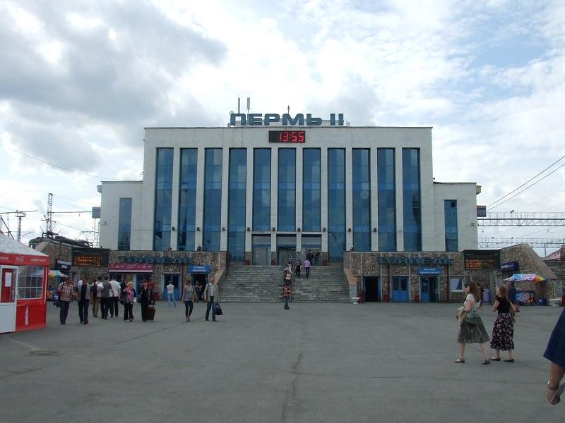 【ロシア鉄道駅】ペルミ_f0169061_23481022.jpg