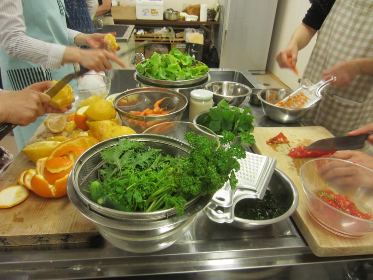 精進料理教室の様子_d0231263_0522993.jpg
