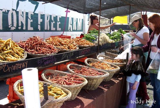 san francisco farmers market  S.F. ファーマーズマーケット_e0253364_1148134.jpg