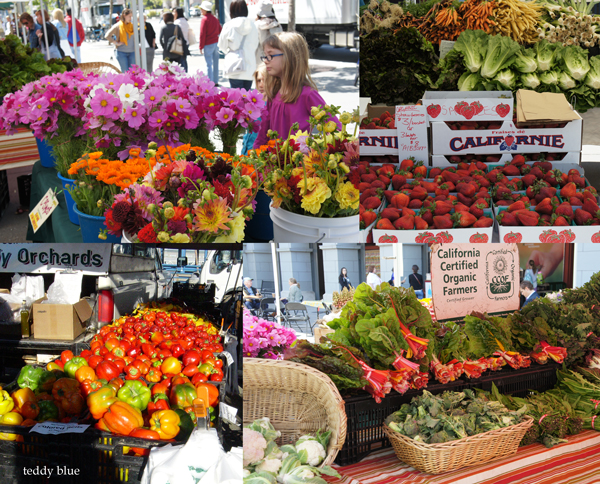 san francisco farmers market  S.F. ファーマーズマーケット_e0253364_1215953.jpg