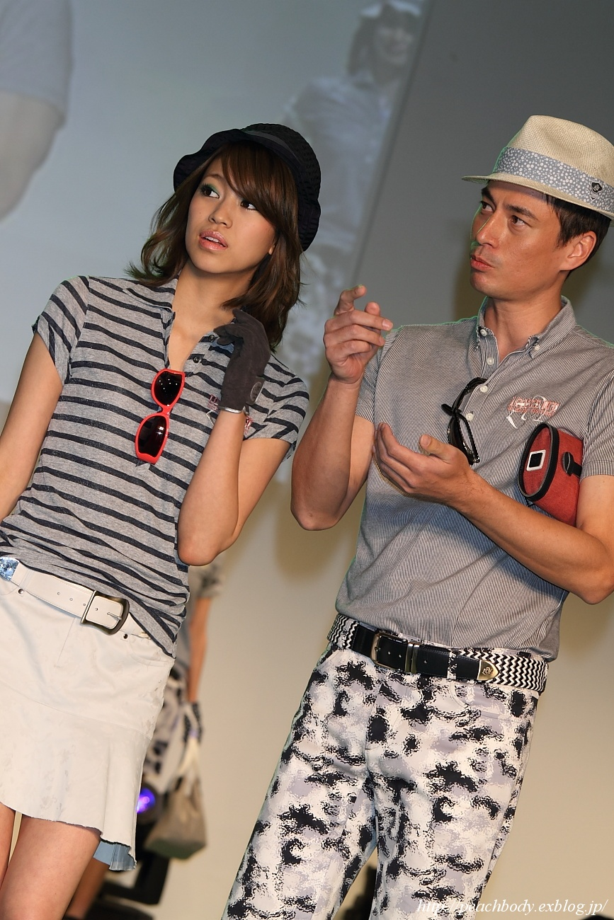 EVEN×RAKUEN GOLF Style Collection 2012 STAGE-C その7_c0215885_20434526.jpg
