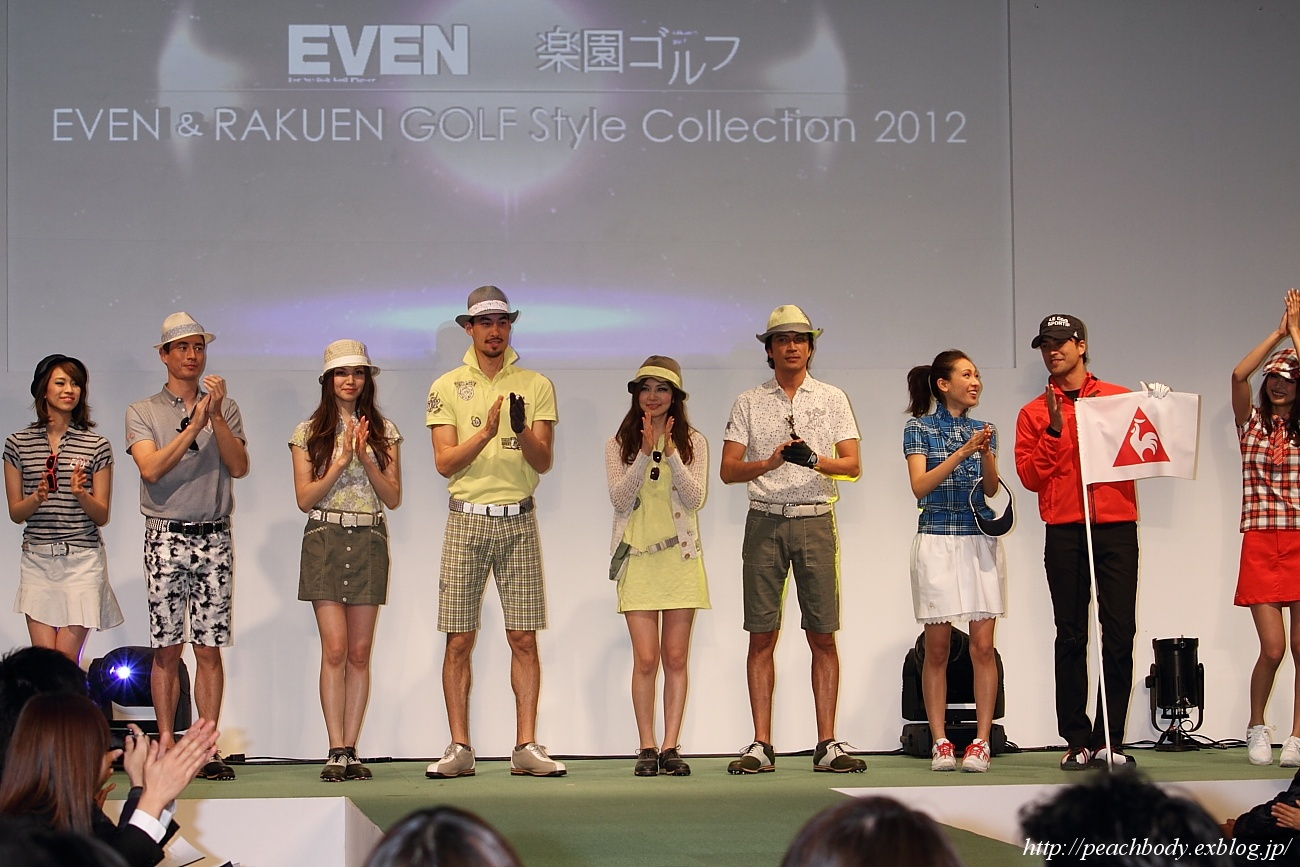 EVEN×RAKUEN GOLF Style Collection 2012 STAGE-C その7_c0215885_2046484.jpg