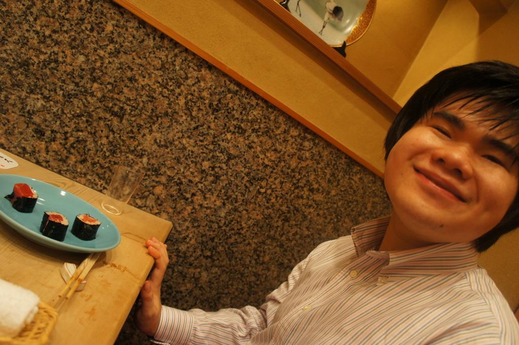 JapanDiary@BerlinVol.11 ノブ君と日本で初めてのお寿司!_c0180686_19402769.jpg