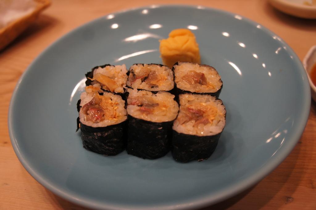 JapanDiary@BerlinVol.11 ノブ君と日本で初めてのお寿司!_c0180686_19403697.jpg
