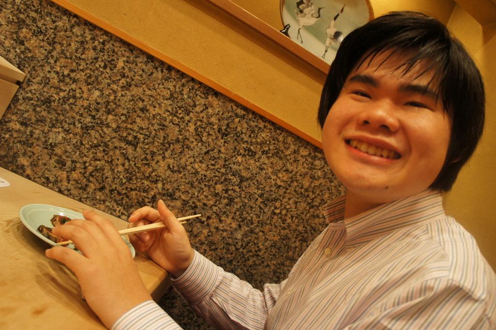 JapanDiary@BerlinVol.11 ノブ君と日本で初めてのお寿司!_c0180686_200303.jpg