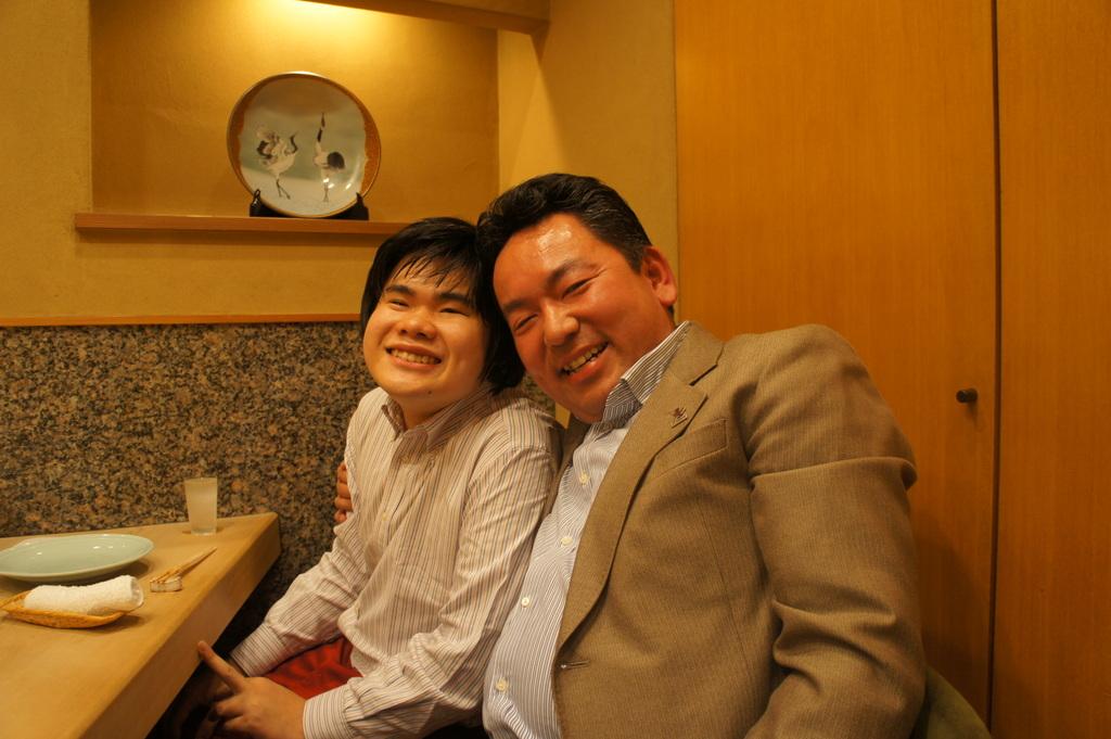 JapanDiary@BerlinVol.11 ノブ君と日本で初めてのお寿司!_c0180686_20254212.jpg