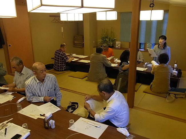 愛媛県建築士会松山支部南地区総会が開催されました!_b0186200_1636444.jpg