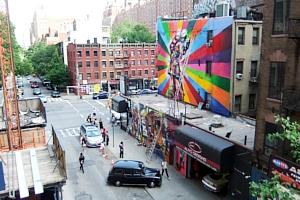 周辺にストリート・アート増加中のニューヨークの空中公園ハイライン_b0007805_20104119.jpg