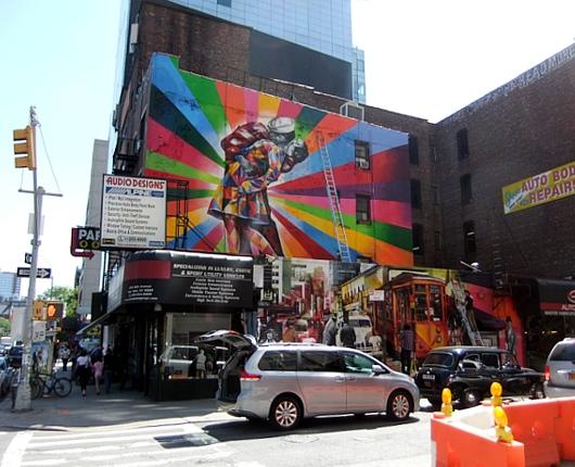 周辺にストリート・アート増加中のニューヨークの空中公園ハイライン_b0007805_20105677.jpg