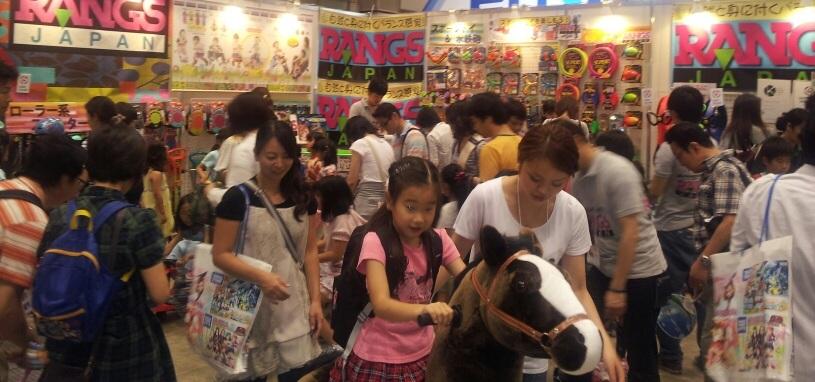 東京おもちゃショー2012 パブリックデーのラングスブース_d0148223_18393019.jpg
