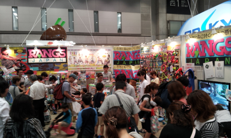 東京おもちゃショー2012 パブリックデーのラングスブース_d0148223_7352811.jpg