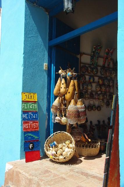 キューバ (35) トリニダー旧市街のマヨール広場_c0011649_4125348.jpg