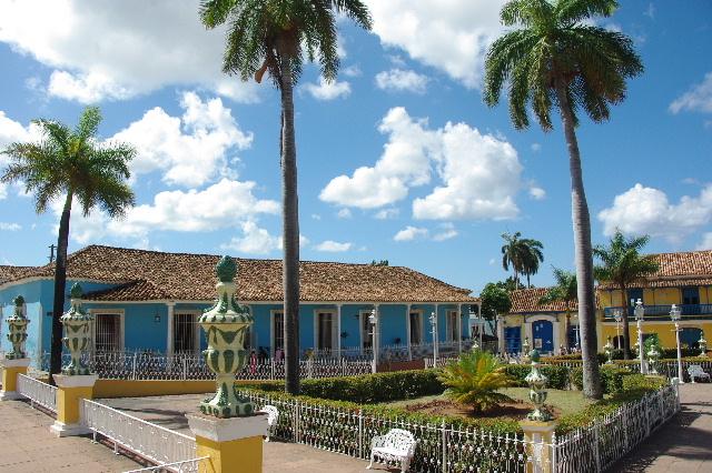 キューバ (35) トリニダー旧市街のマヨール広場_c0011649_41471.jpg
