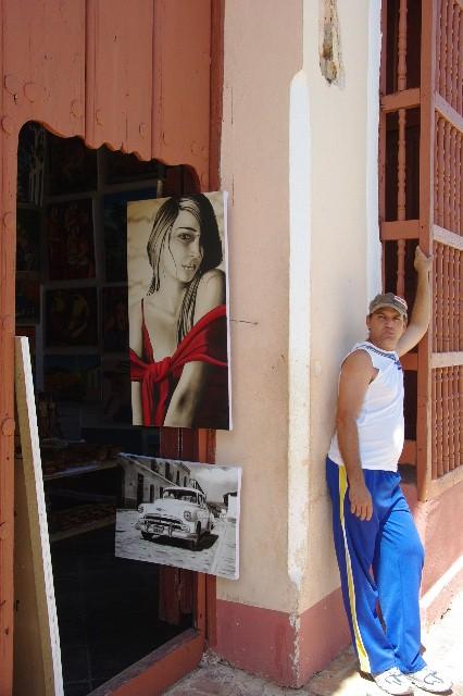 キューバ (35) トリニダー旧市街のマヨール広場_c0011649_415102.jpg