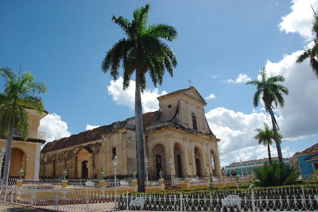 キューバ (35) トリニダー旧市街のマヨール広場_c0011649_472667.jpg