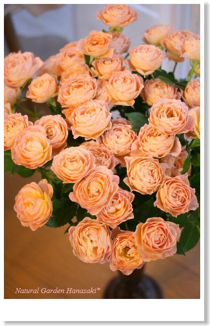 たくさんの頂いたお花を束ねて_e0105296_22553434.jpg