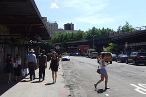 初夏を迎えたニューヨークの空中公園ハイライン風景_b0007805_12474259.jpg