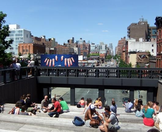 初夏を迎えたニューヨークの空中公園ハイライン風景_b0007805_12475130.jpg