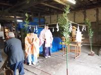 伝統ある武田家の修復作業その1(6月16日)_d0206420_1834243.jpg