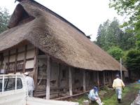 伝統ある武田家の修復作業その1(6月16日)_d0206420_18343169.jpg