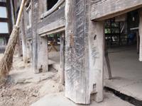 伝統ある武田家の修復作業その1(6月16日)_d0206420_18353069.jpg
