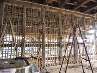 伝統ある武田家の修復作業その1(6月16日)_d0206420_18375659.jpg