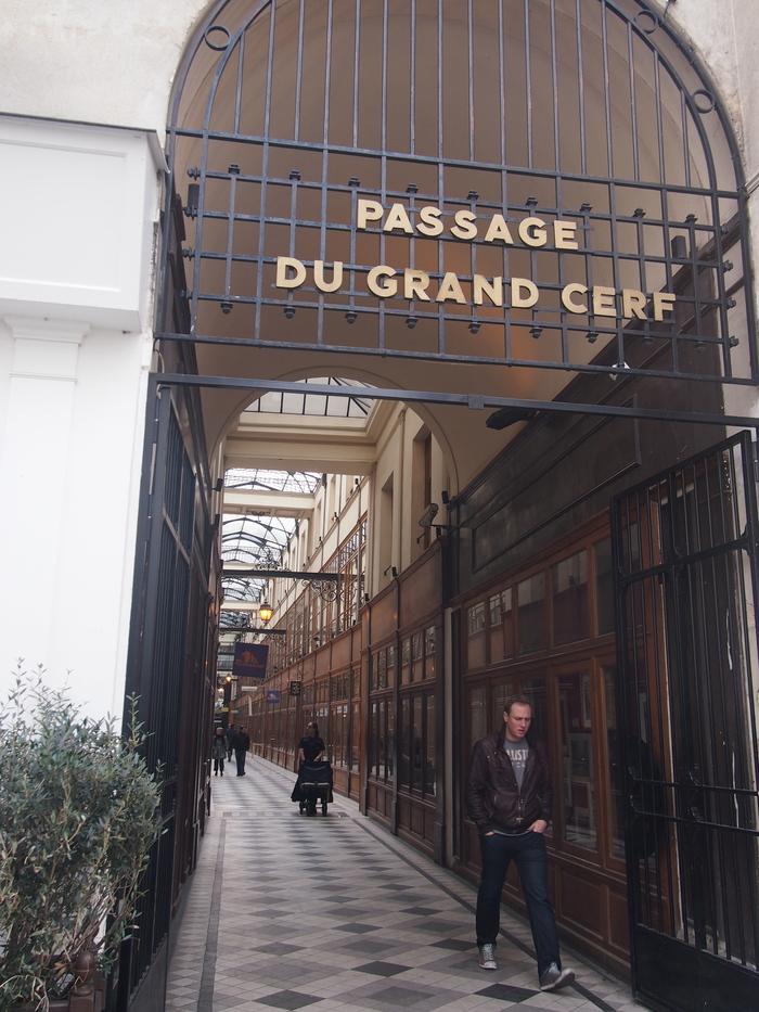 2012 2月 パリ  パリのパッサージュ Grand Cerf_f0062122_87236.jpg