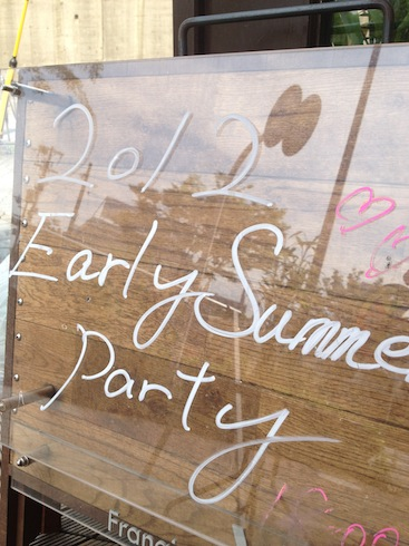 ☆early summer party終了☆_c0187025_0125819.jpg