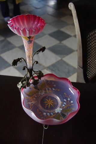 キューバ (37) トリニダー旧市街のロマンティコ博物館の調度品 _c0011649_13372475.jpg