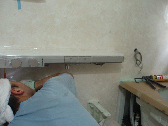 浴室リフォーム3日目(東京都町田市)_e0207151_21114341.jpg