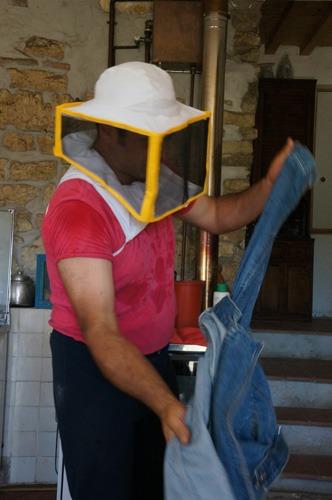 初の自家製蜂蜜を収穫しました♪_f0106597_430598.jpg