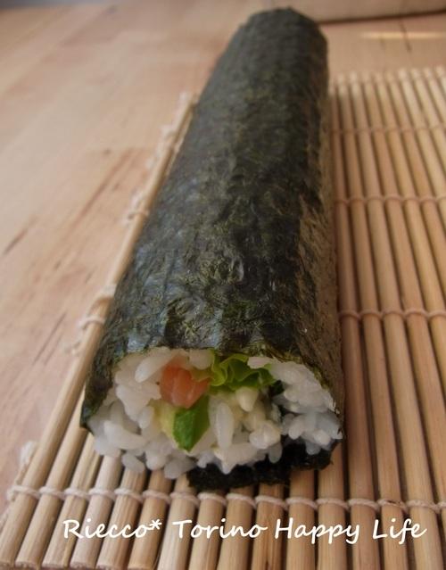 塩麹ごはんで巻き寿司& トリノの鮮魚市場☆ Pescheria Gallina_b0246303_0324848.jpg
