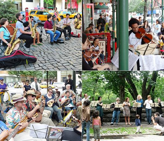 音楽天国ニューヨークならではの大音楽イベント Make Music New York_b0007805_1372660.jpg