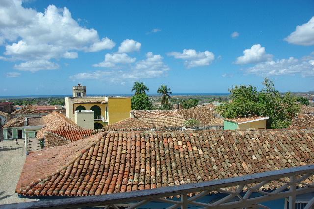 キューバ (38) トリニダー旧市街のロマンティコ博物館からの眺め_c0011649_0162180.jpg