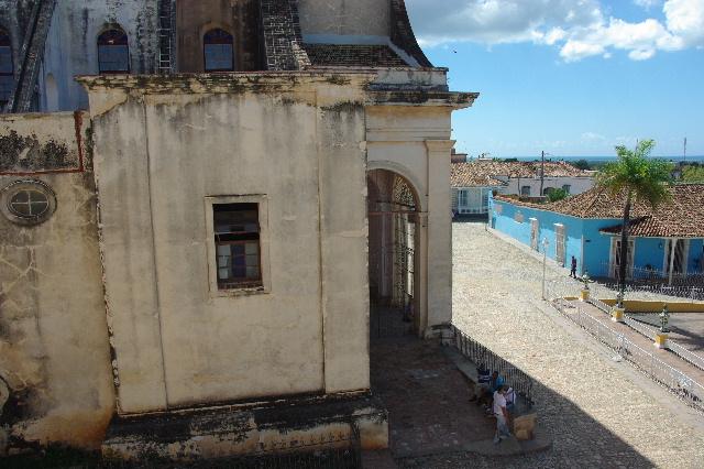 キューバ (38) トリニダー旧市街のロマンティコ博物館からの眺め_c0011649_0202033.jpg
