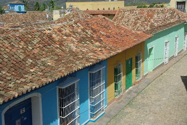 キューバ (38) トリニダー旧市街のロマンティコ博物館からの眺め_c0011649_020266.jpg