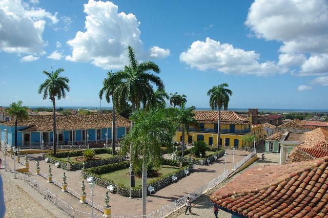 キューバ (38) トリニダー旧市街のロマンティコ博物館からの眺め_c0011649_026041.jpg