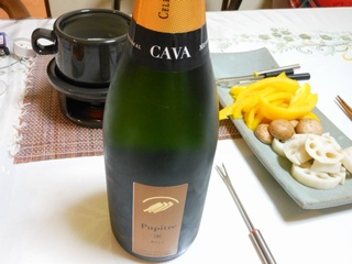 父の日は、バーニャカウダとスパークリングワイン  うちごはん_d0083265_12563247.jpg