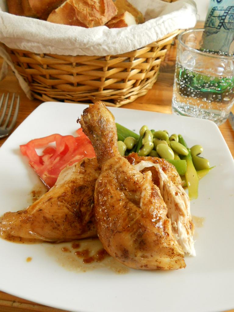 poulet rôti ローストチキン_a0066869_2254477.jpg