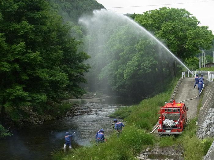 消防演習の日_f0236291_5533479.jpg