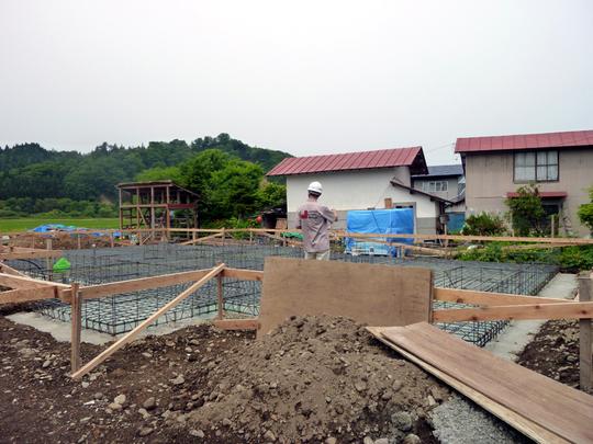 M様邸「三木田の家」工事中です。_f0150893_17233592.jpg