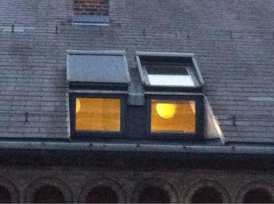 12北欧研修:コペンハーゲン宿泊ホテル窓から_e0054299_583625.jpg