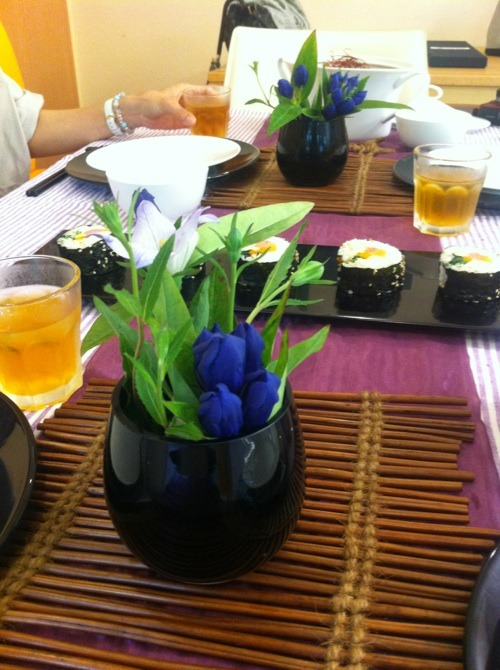 料理教室・・・韓国料理「キンパなど」_f0141419_5422939.jpg